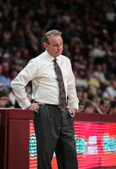 The Mississippi State women's basketball team had a long night before its game against Texas A&M. Head coach Vic Schaefer subsequently did something he's never done in his career to make up for it. Photo by Keith Warren