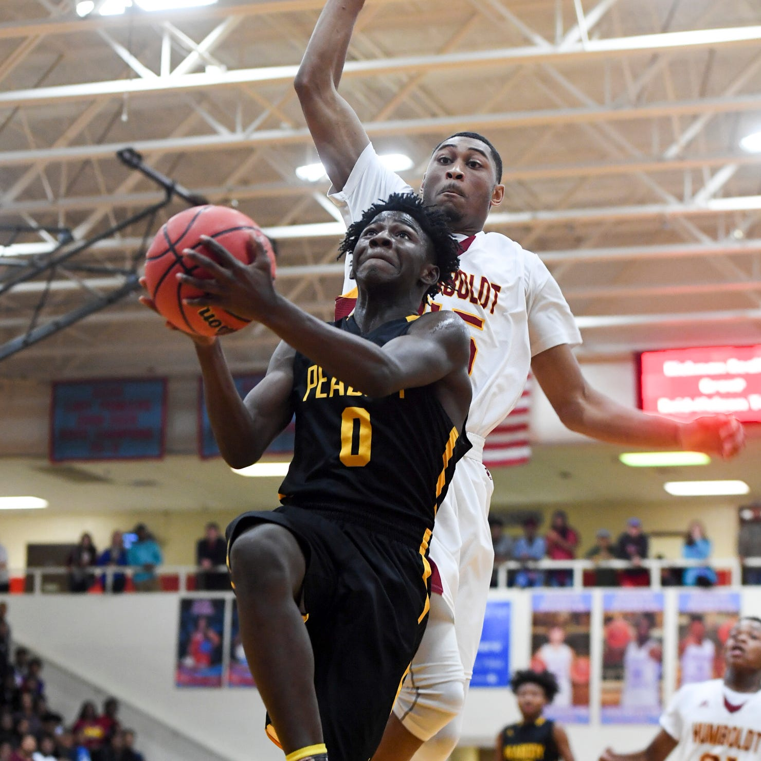 Who were the Jackson area basketball top performers from Monday, Tuesday of Week 14?