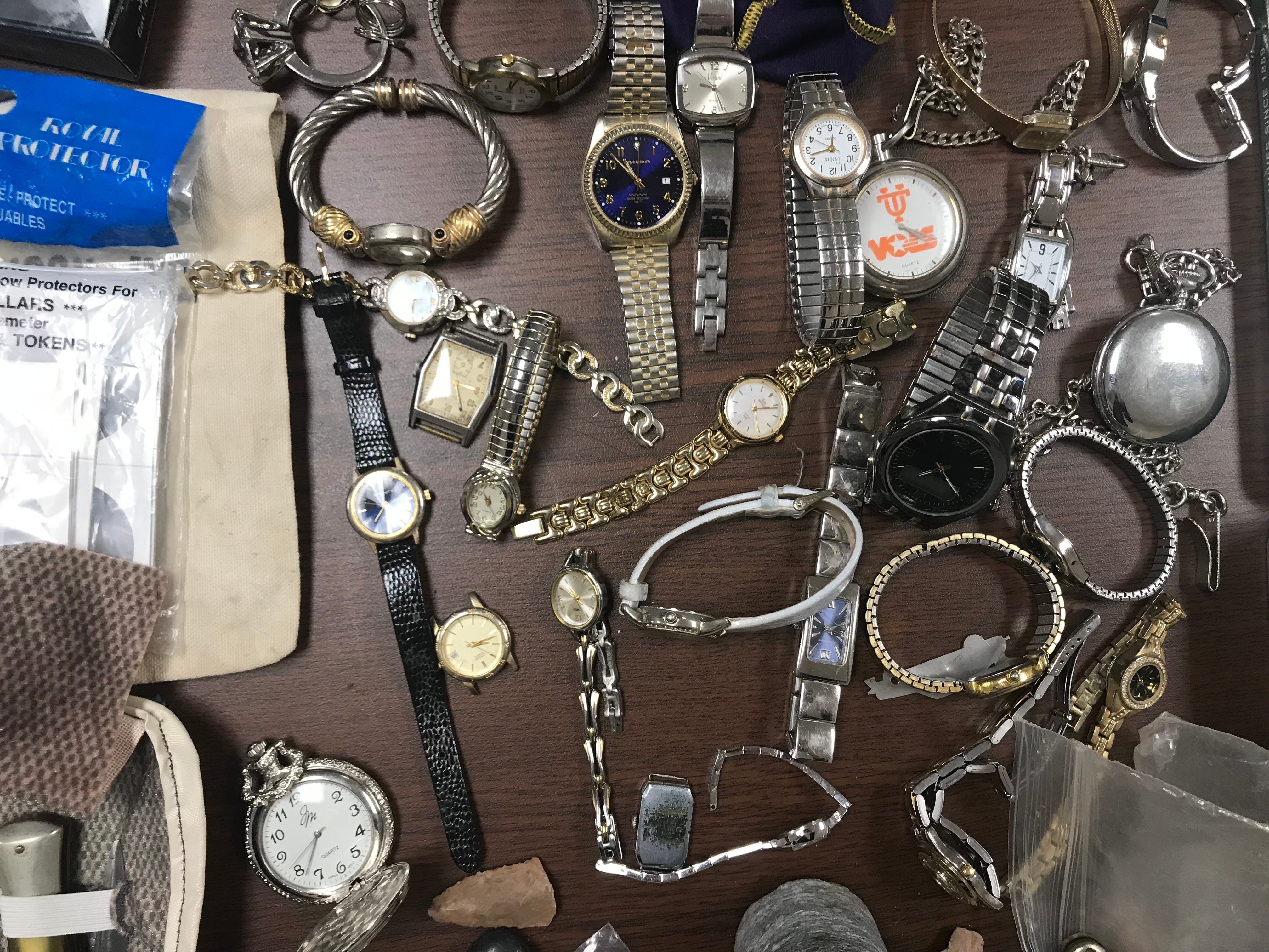 Antique watches were among hundreds of items Madison County Sheriff's Office recovered from a theft ring believed to be targeting grieving families and others throughout West Tennessee.