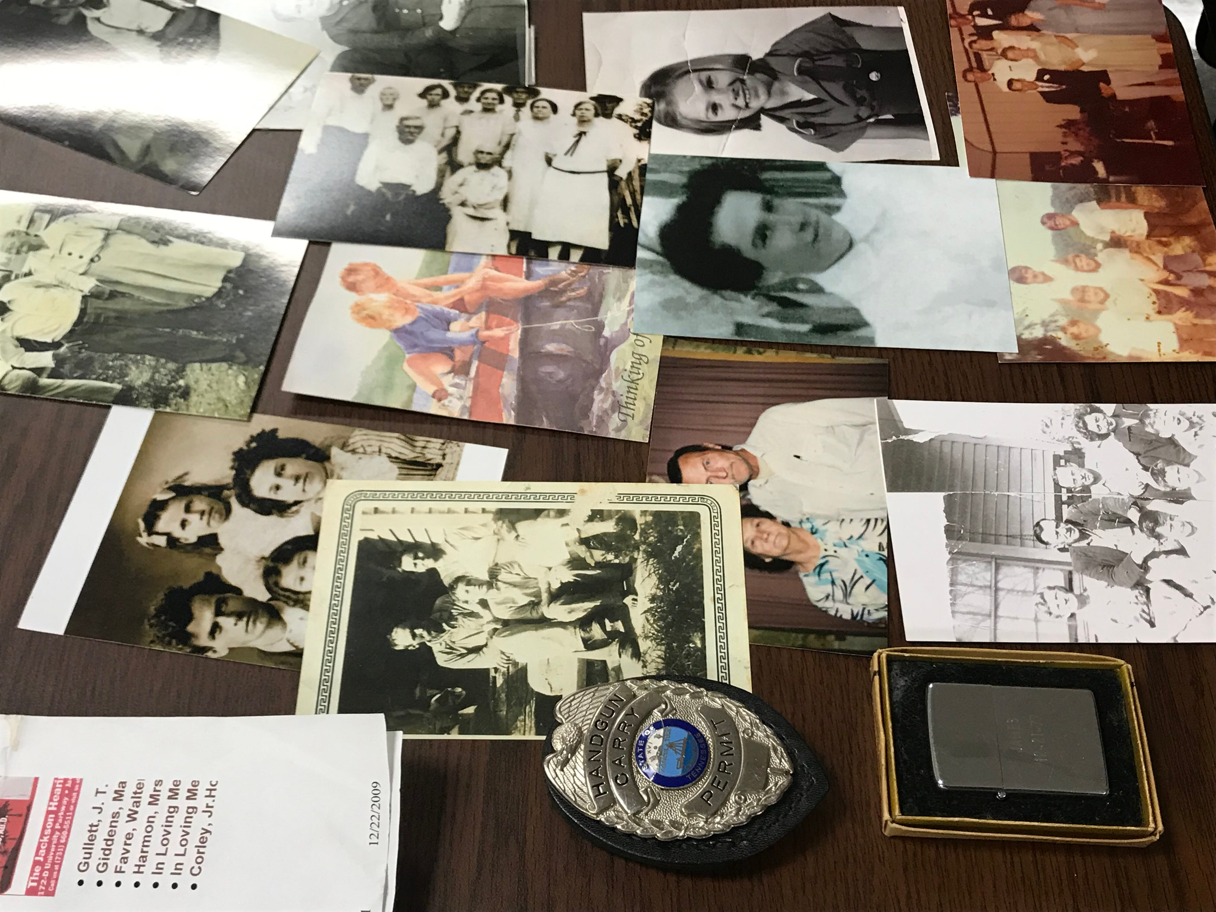 Family photos were among hundreds of items Madison County Sheriff's Office recovered from a theft ring believed to be targeting grieving families and others throughout West Tennessee.
