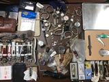 Madison County Sheriff's deputies recovered hundreds of items stolen in a string of funeral burglaries across West Tennessee.
