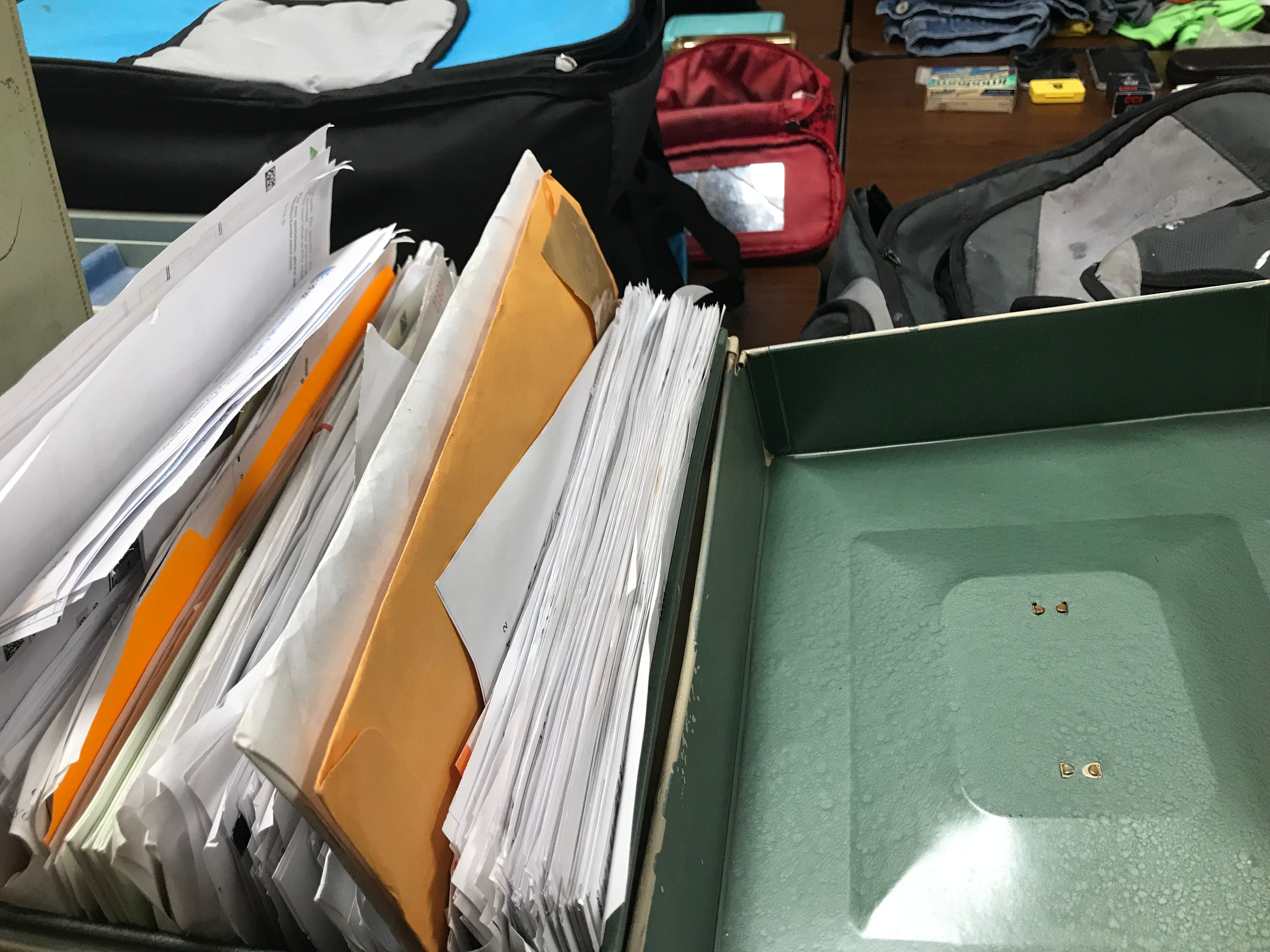 Personal files and sensitive paperwork were among hundreds of items Madison County Sheriff's Office recovered from a theft ring believed to be targeting grieving families and others throughout West Tennessee.