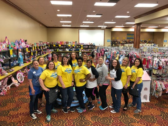 Volunteers are the backbone of the Picky Chick Consignment Sale.
