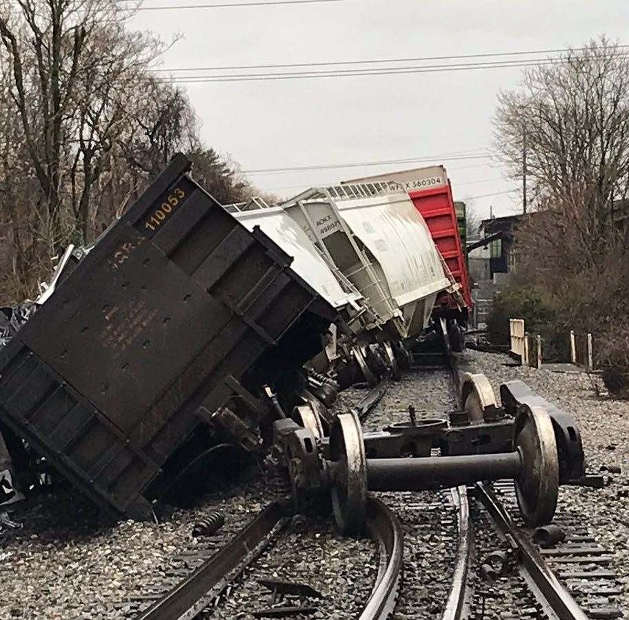 Train derailed near Sutherland and Concord, no injuries