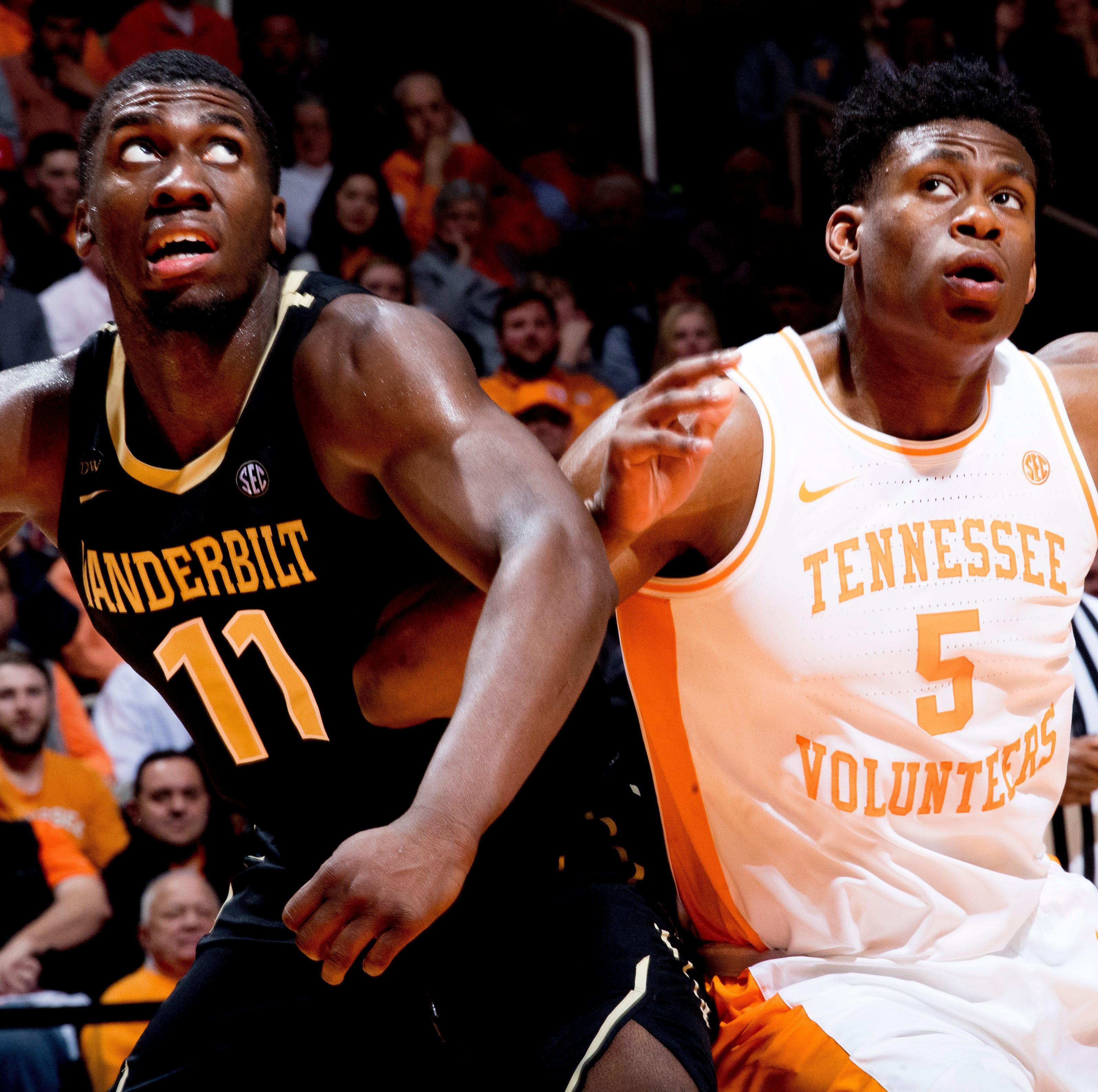 Simi Shittu's frustrating night vs Tennessee basketball latest in Vanderbilt's fading season