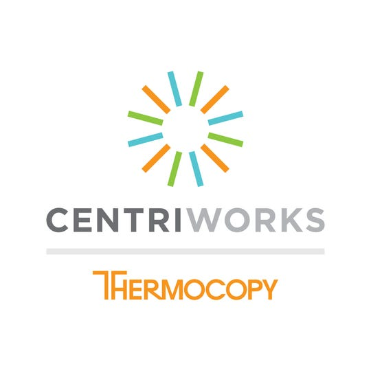 Centriworks Thermocopy logo