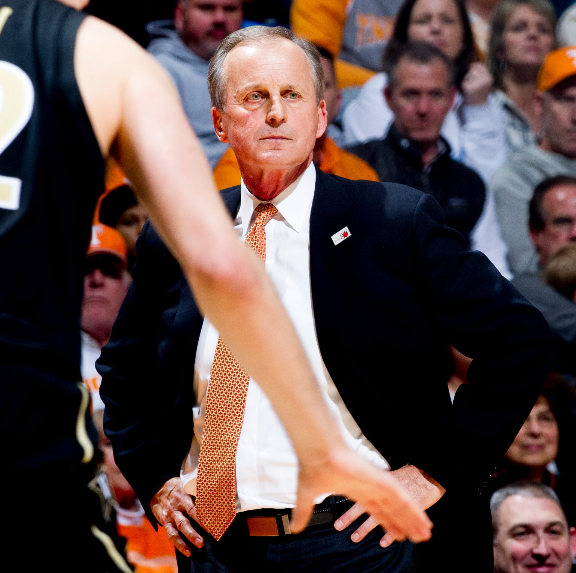 Why Rick Barnes wasn't frustrated by Tennessee basketball's offense vs Vanderbilt