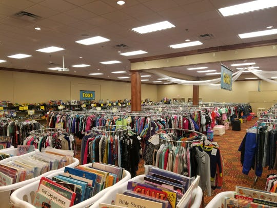Covering 12,000 square feet, the Picky Chick has plenty of kids toys and clothes.