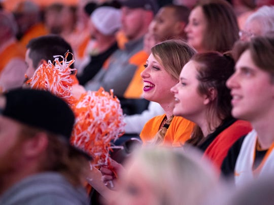 News Sentinel reporter Erica Breunlin attends her first Tennessee basketball game on Tuesday, February 19, 2019.