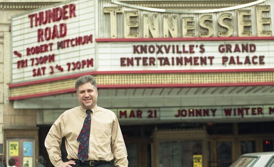 Ashley Capps is president of AC Entertainment, which books the shows for the Tennessee Theatre. March, 1998