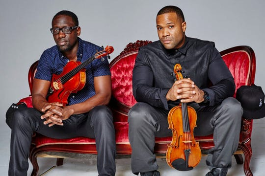 Black Violin, presented by Purdue Convocations. will be at 7:30 p.m. Feb. 28, 2019, in Loeb Playhouse, Purdue Stewart Center.