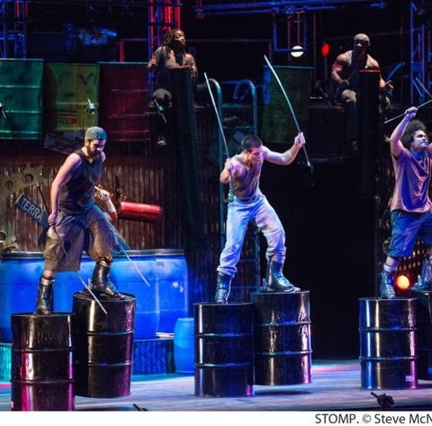Purdue grad returns to town with 'STOMP'