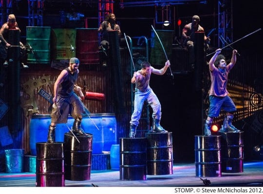 """STOMP"" comes to Purdue's Elliott Hall of Music Friday, Feb. 22."