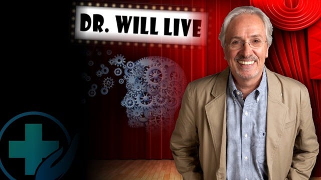 """""""Dr. Will Tells the Story of Your Life: A One-Man Show,"""" a humorous monologue, premieres at 3 p.m. Sunday, Feb. 24, at the Long Center for the Performing Arts."""