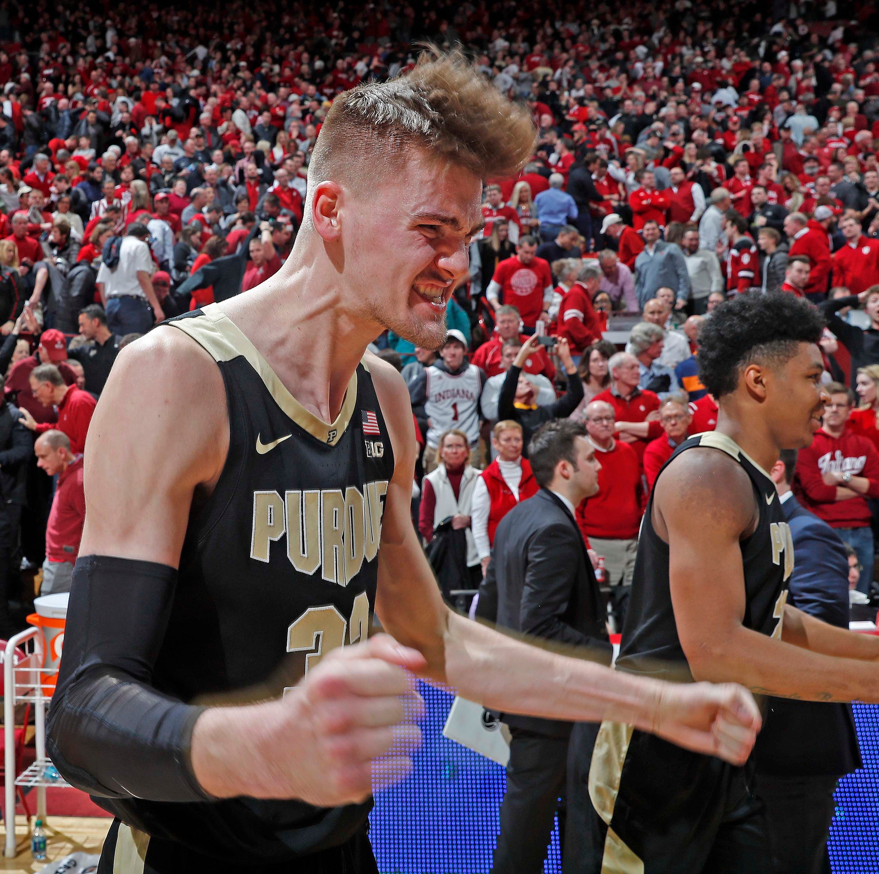 Twitter adores Matt Haarms' game-winning tip in Purdue, Indiana basketball