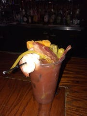 Build your own Bloody Mary at The Bulldog