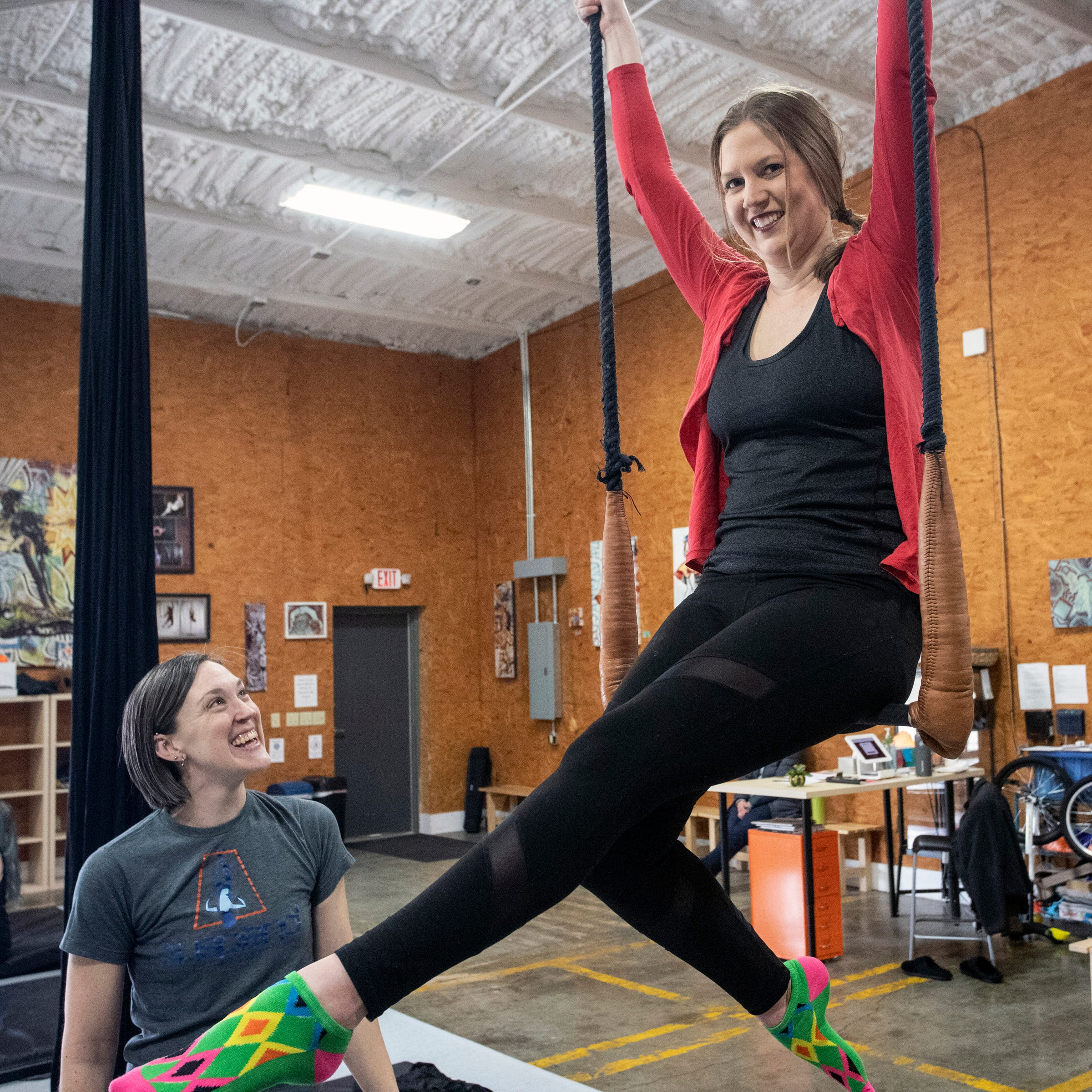 Want to run away and join the circus? Well you can at this Louisville gym