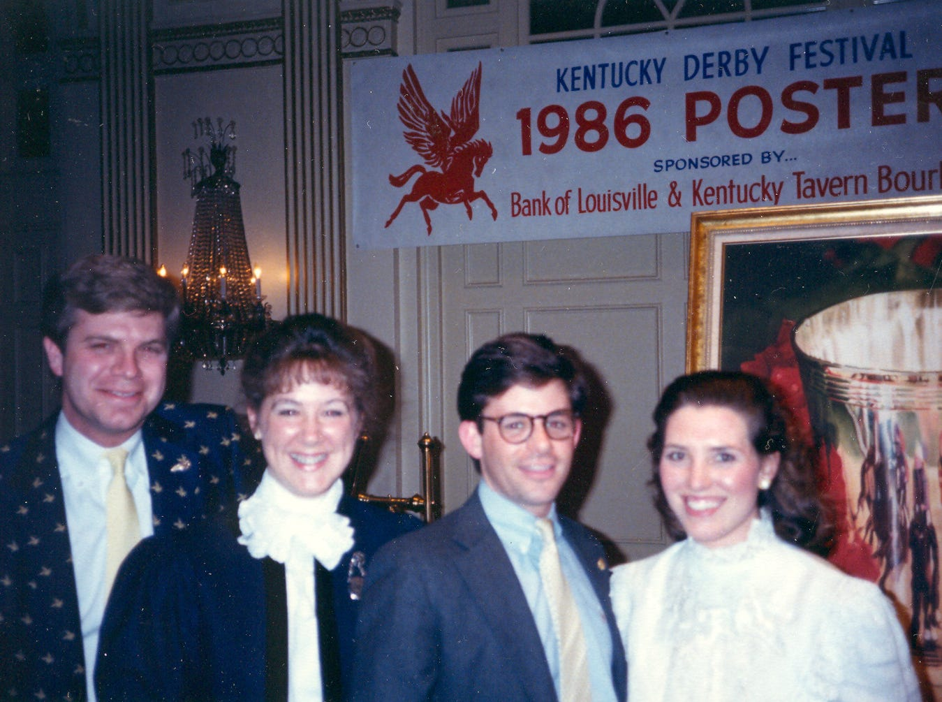Mike Berry, president and CEO of the Kentucky Derby Festival, pictured in 1986.