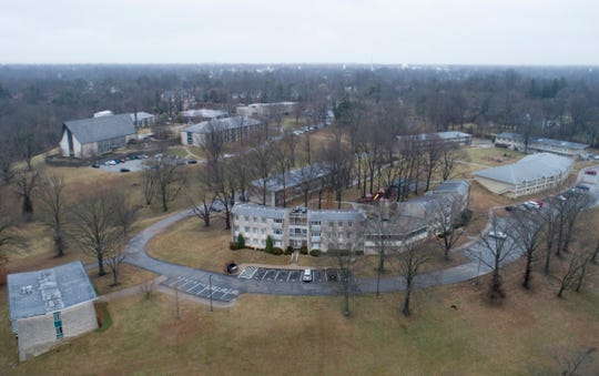 Apartment buildings on the campus of the Presbyterian Seminary sit on land that is being offered for sale.Feb. 20, 2019