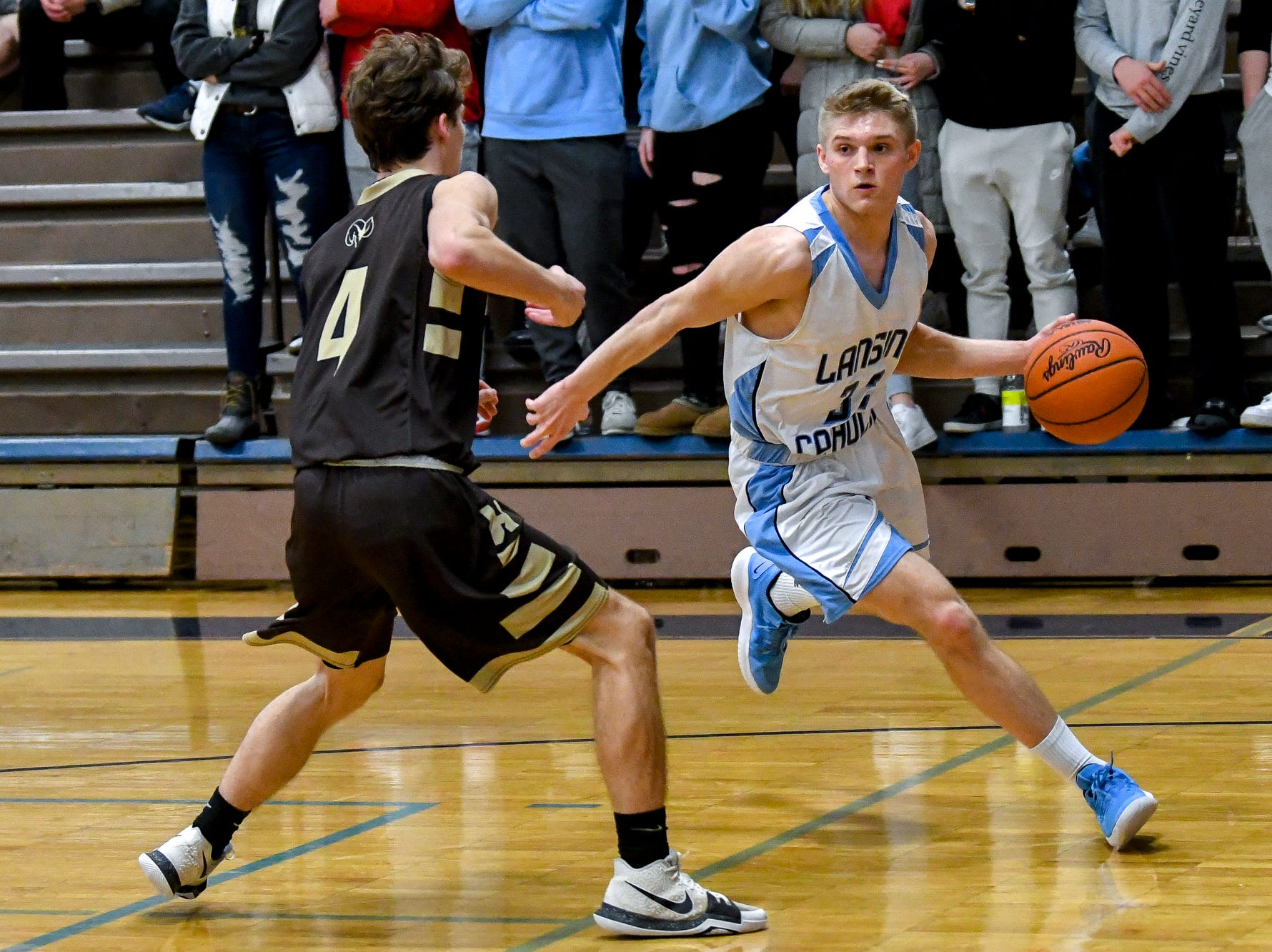 Alex Watters leads second half charge as Lansing Catholic downs Holt
