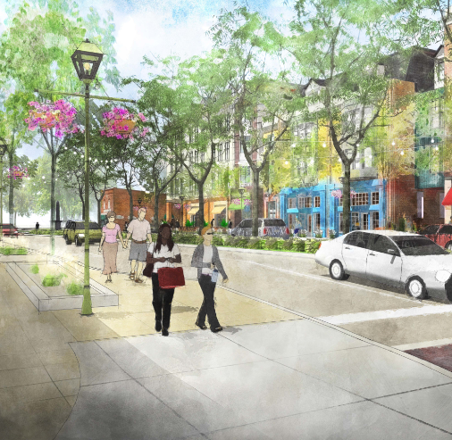 Local developer moving forward with plan to revitalize Four Corners in Okemos