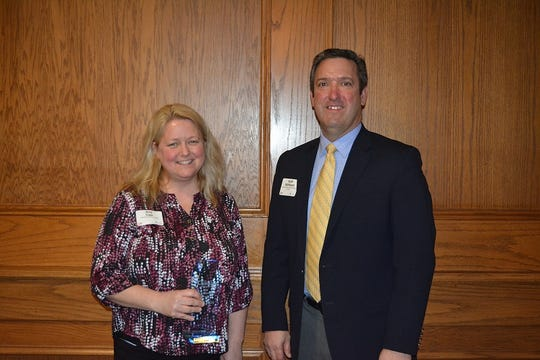 Amy Cops of Lakeshore Technical College (LTC) was the recipient of the 2018 Education Impact Award.