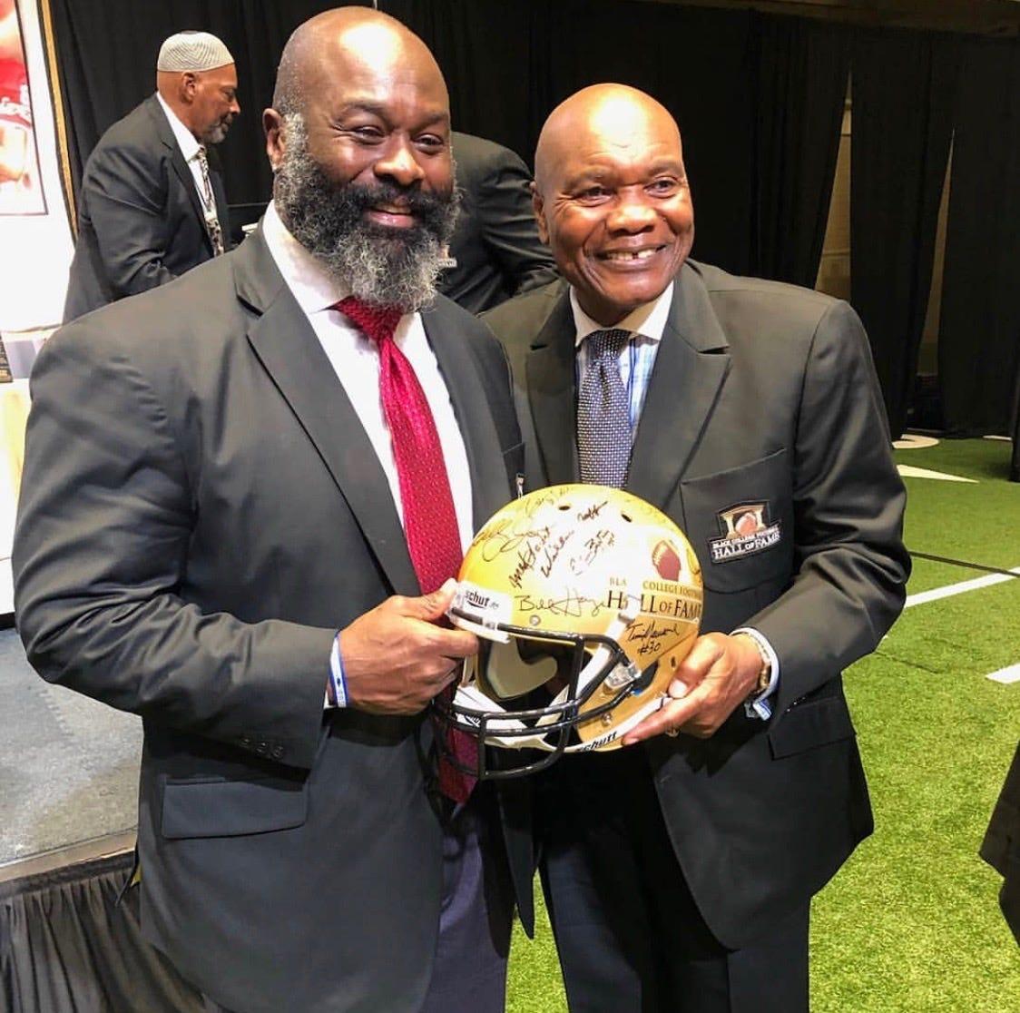 Huge honor for Hugh: Ex-Tyger elected to Black College Football HOF