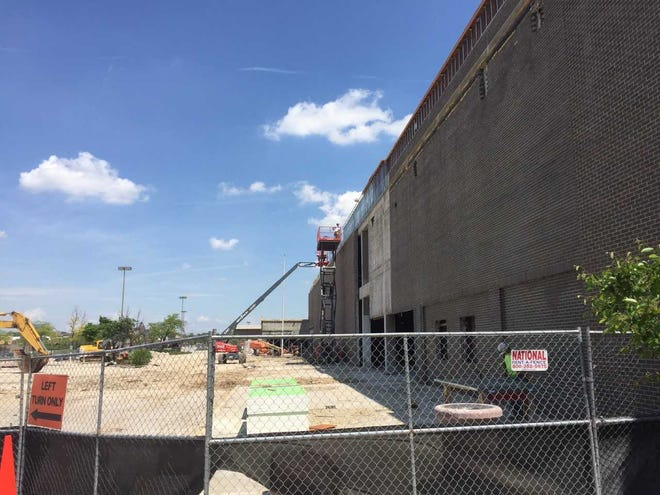 Southridge Mall's former Sears is continuing its redevelopment with a T.J. Maxx store expected to open this summer.