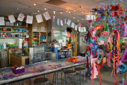 Sabrina Weiland has taught art at Cedar Hills Elementary in Oak Creek since 2008.