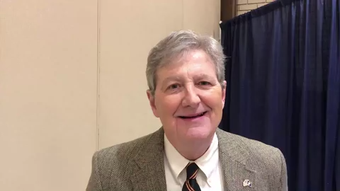 'Crazy never takes a vacation up there,' says U.S. Sen. John Kennedy, R-La., when talking about Washington, D.C.
