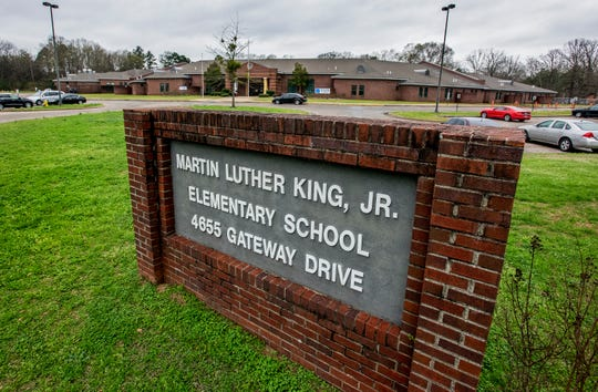 Martin Luther King, Jr., Elementary School in Montgomery, Ala., on Wednesday February 20, 2019.