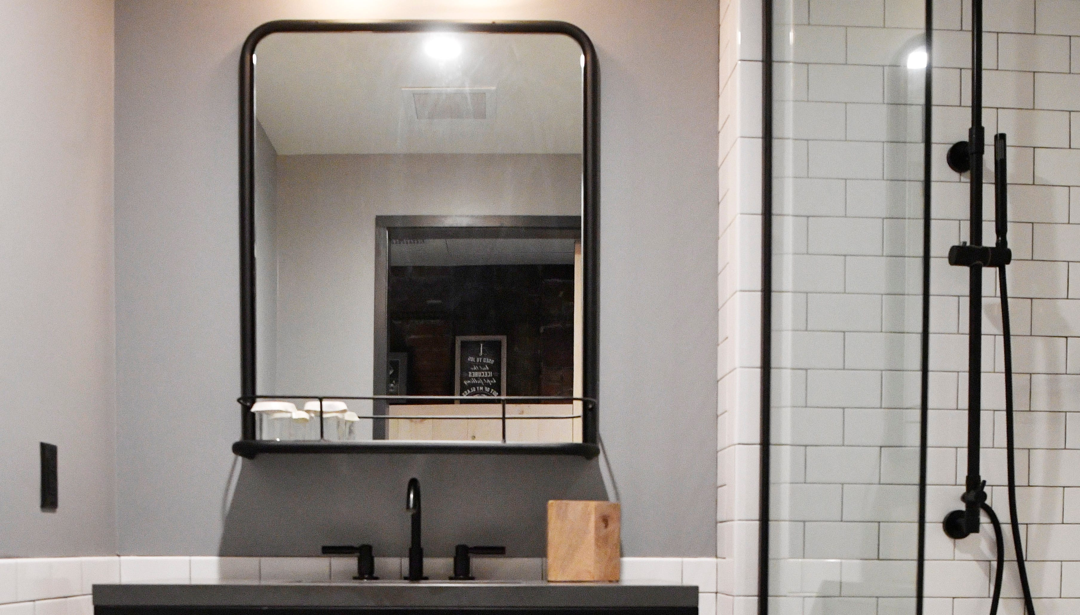 Moxy Hotel is a new hotel coming to Lower Broadway. It's geared to partiers and millennials with Instagram-ready photo areas and small modern rooms Wednesday, Feb. 20, 2019, in Nashville, Tenn.