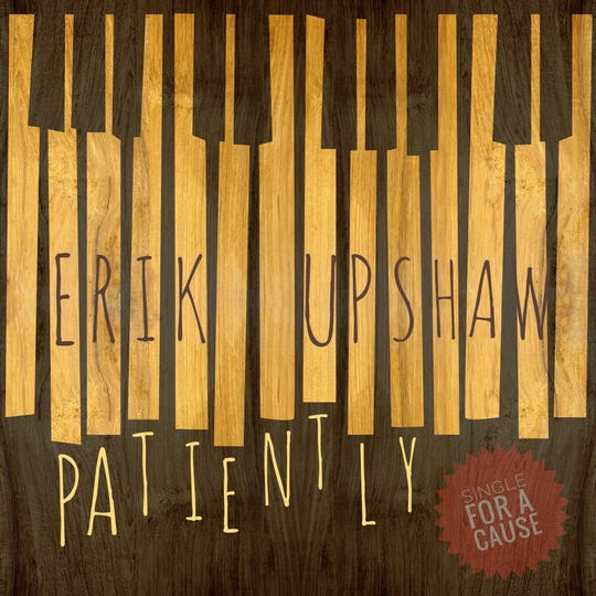 """All proceeds from """"Patiently"""" by Erik Upshaw will go toward cancer treatment for Noah Meikrantz."""