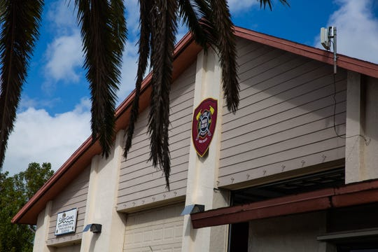 The exterior of the North Collier Fire Control and Rescue District in North Naples on Wednesday, Feb. 20, 2019. The station has plans to relocate to a new station.
