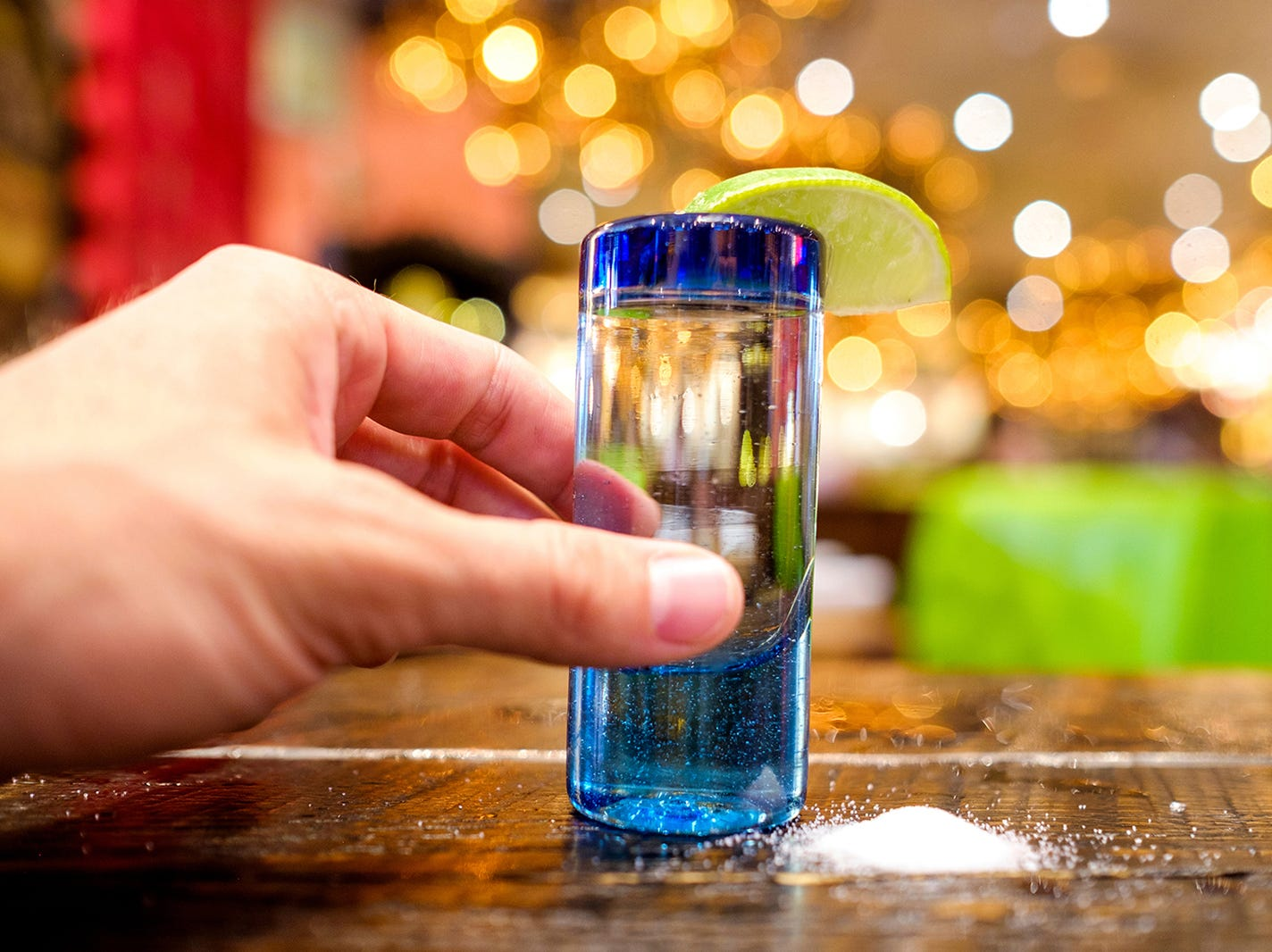 Lick salt, take shot, suck lime. Rocco's Tacos & Tequila Bar in Naples has more than 330 varieties of tequila.
