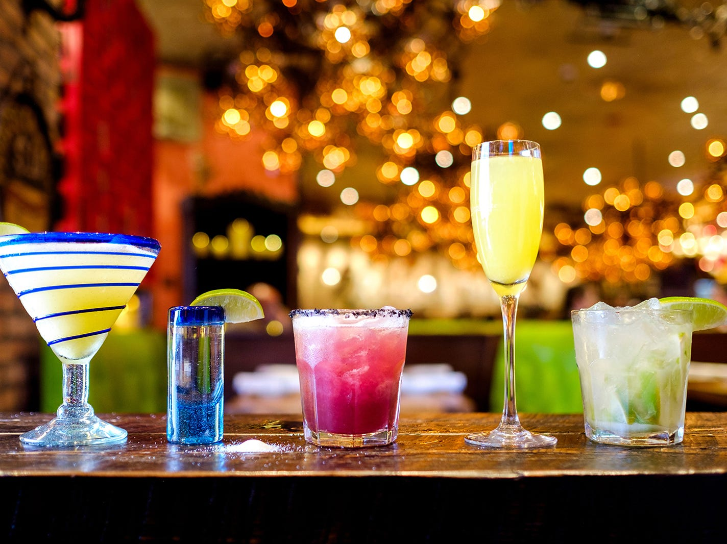 Rocco's Tacos in Naples features more than 330 tequilas and a menu of tropical drinks.