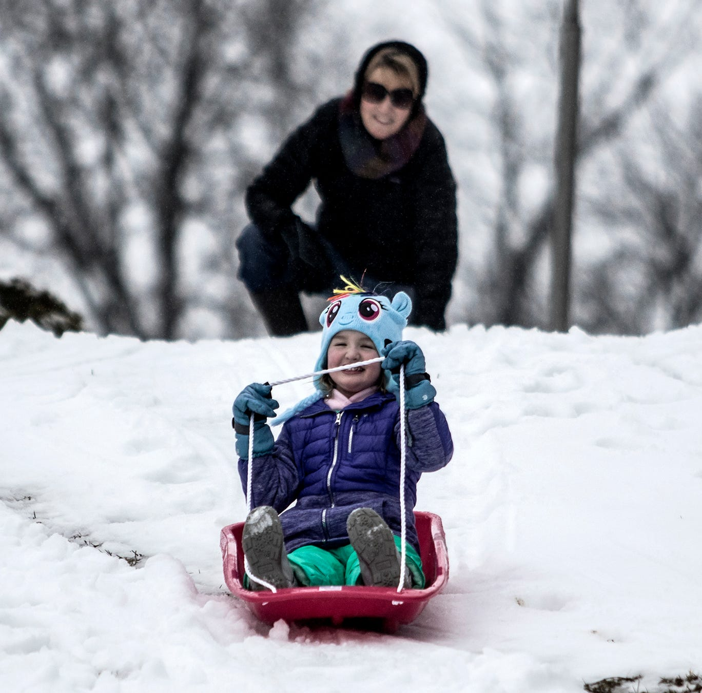 Winter storm puts Licking County under snow emergency, closes schools