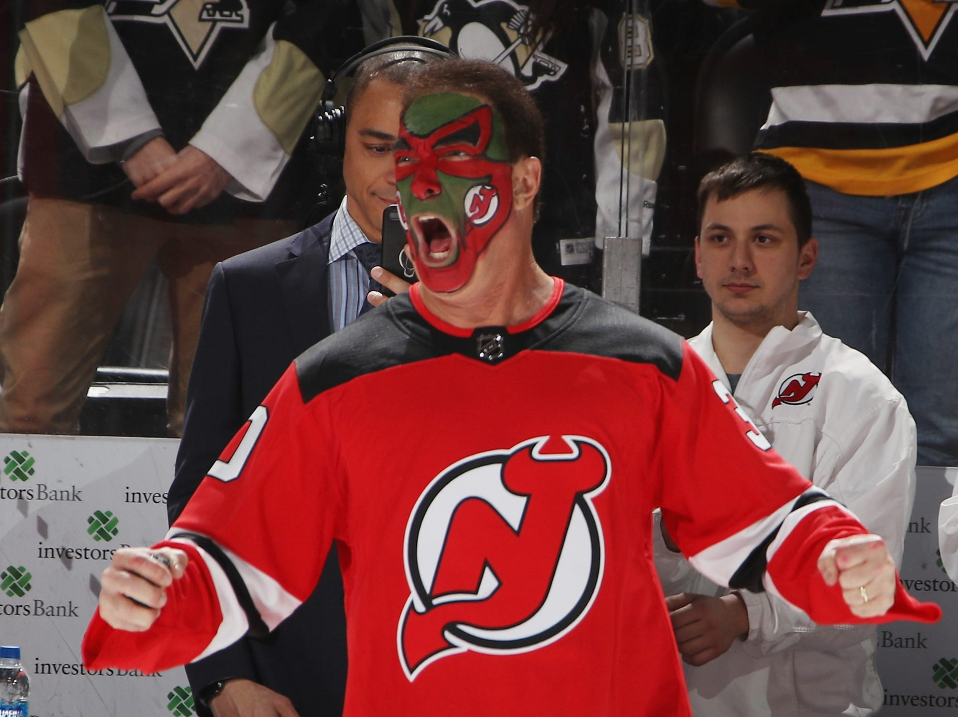 best website cee55 be606 NJ Devils celebrate '90s night with Puddy against Pittsburgh ...