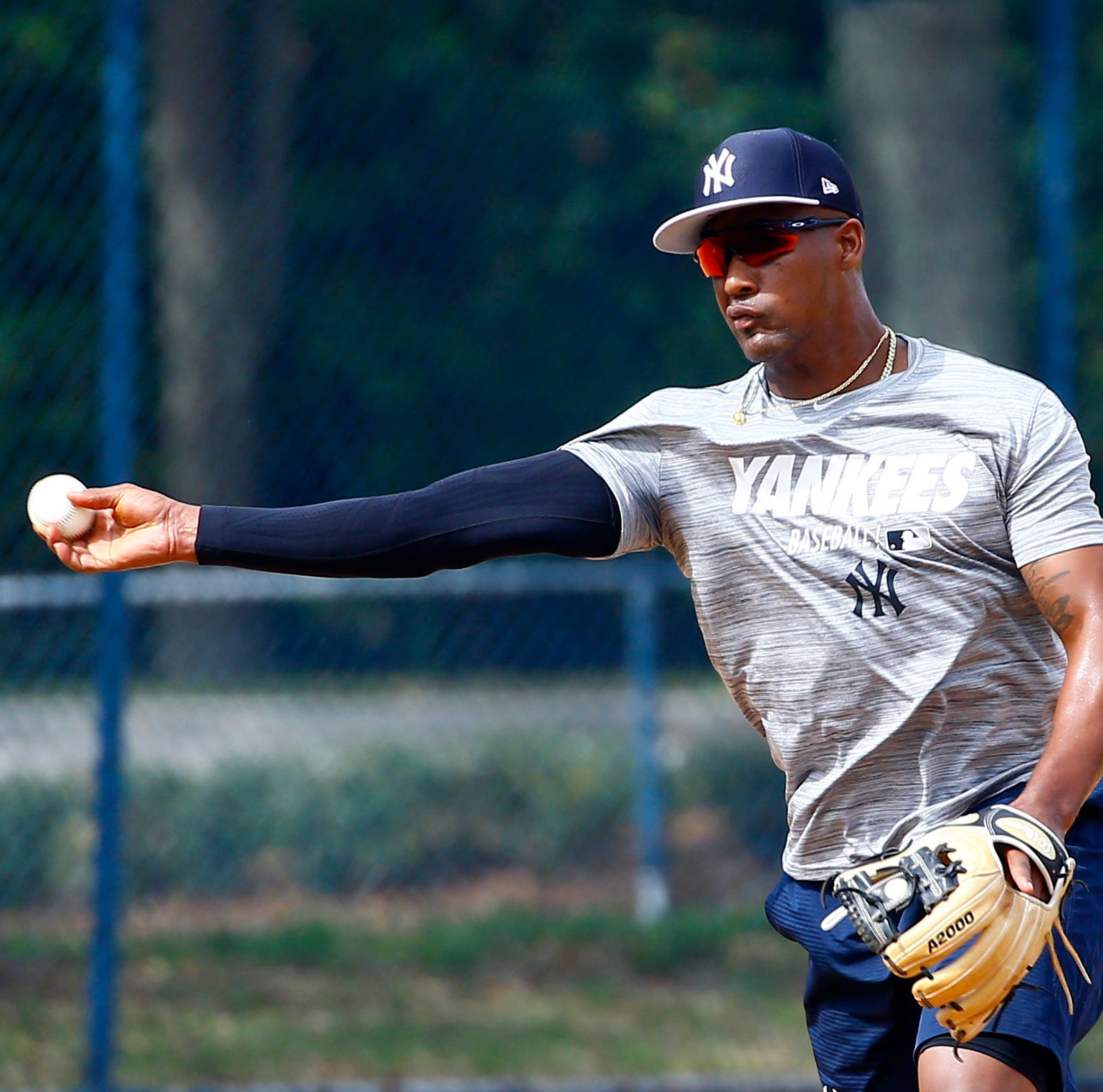 For Miguel Andujar, defense is a priority at Yankees spring training
