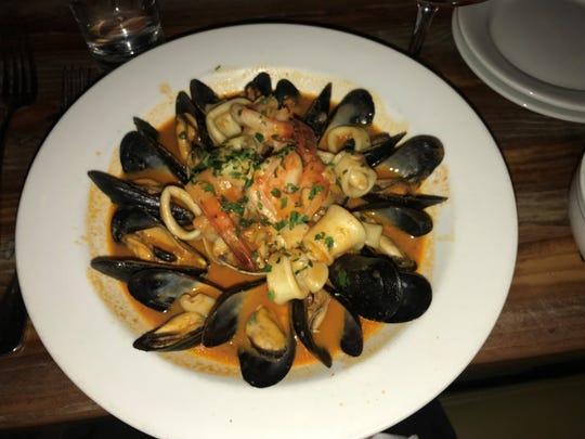 Zuppa di Pesce at De Novo, Montclair