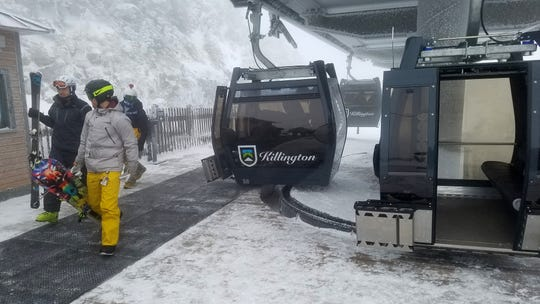 Killington upgraded its K1 Express Gondola with new cabins, floor-to-ceiling windows and a quieter ride.