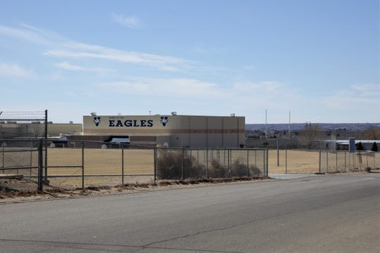 Vista Middle School, located off of Elks Drive in Las Cruces, seen on Feb. 20, 2019.