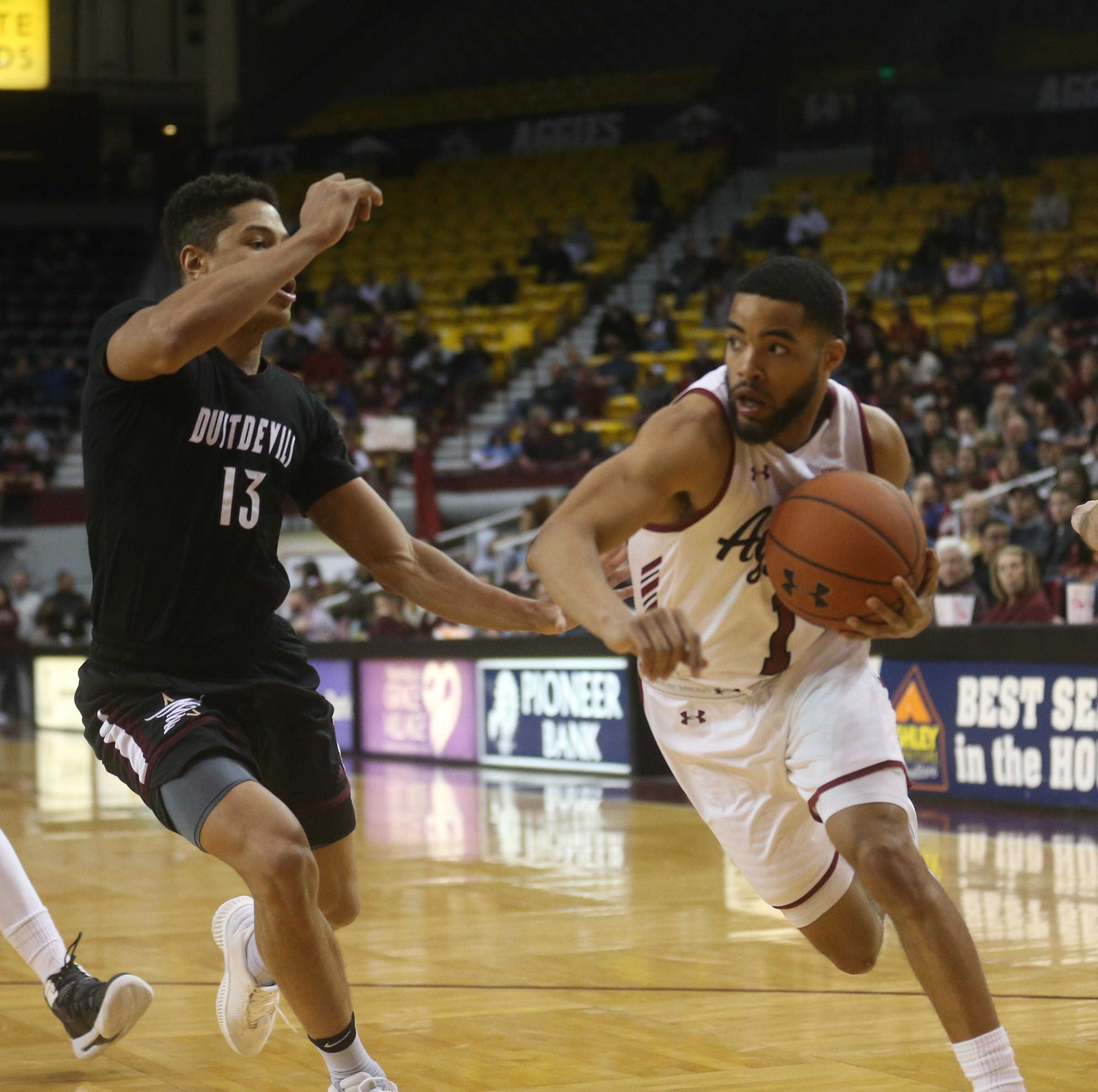Aggies go for fifth WAC regular season title on Saturday