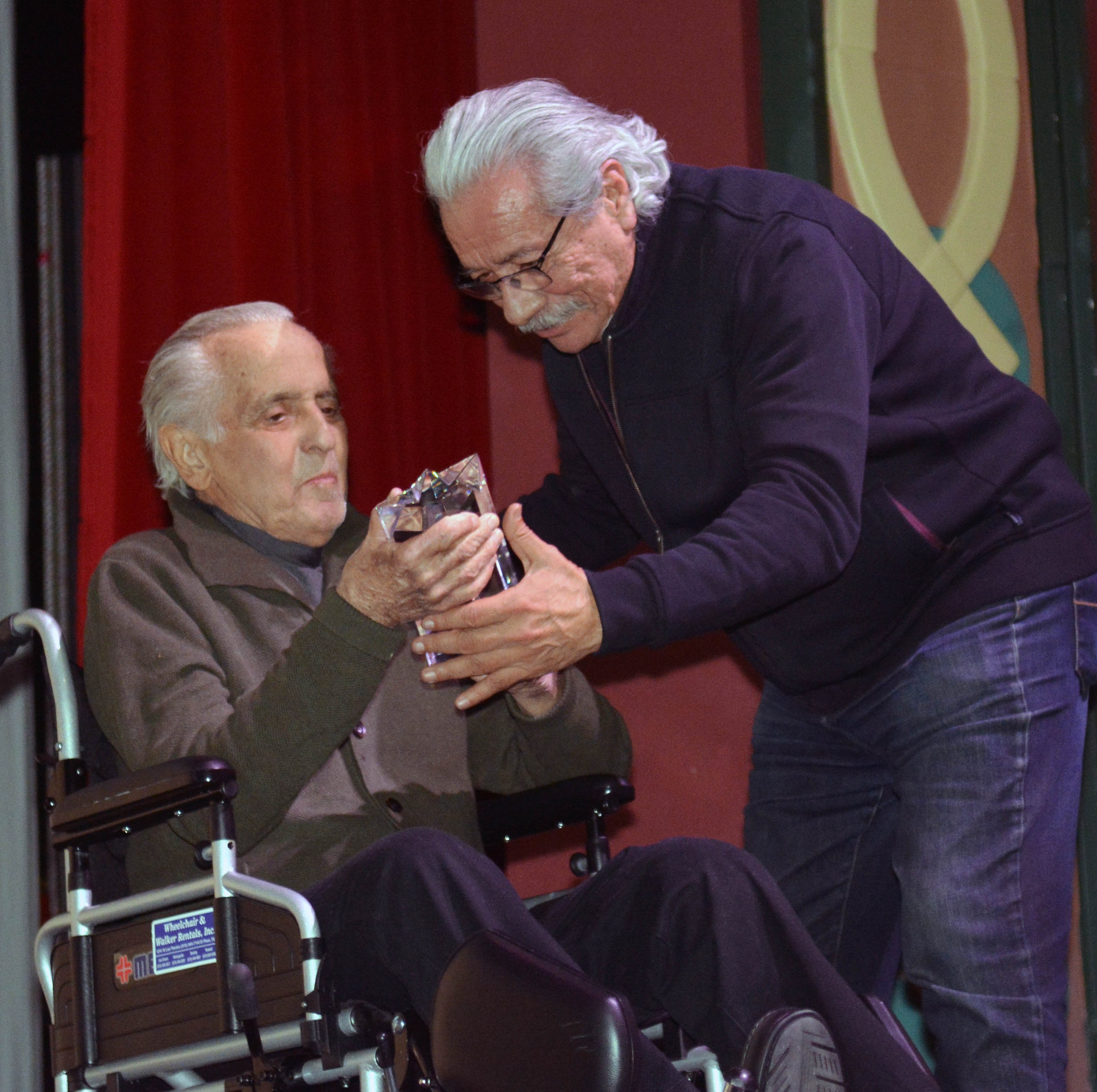 Edward James Olmos honored at Las Cruces film fest