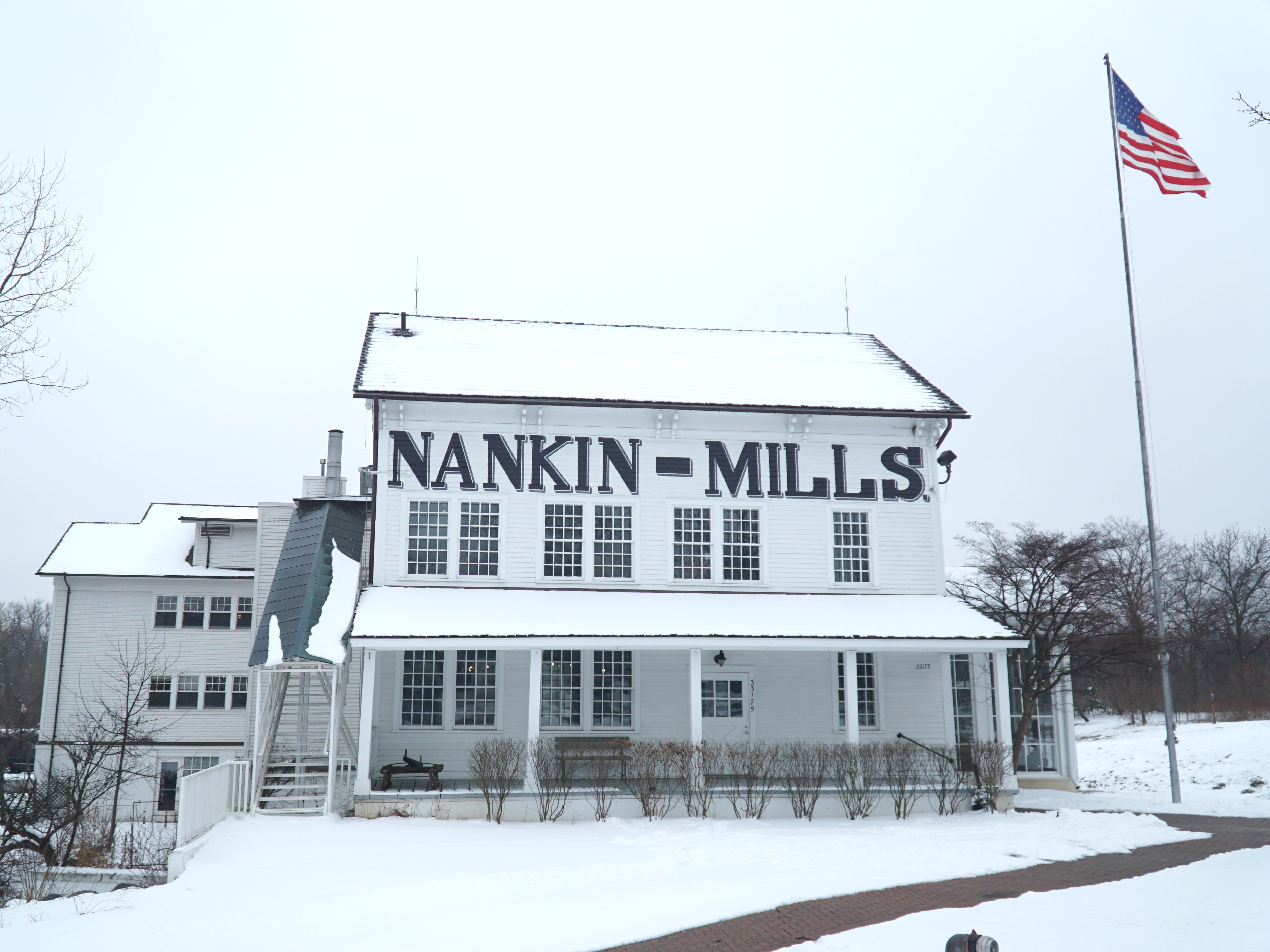 Nankin Mills is located at 33175 Ann Arbor Trail in Livonia.