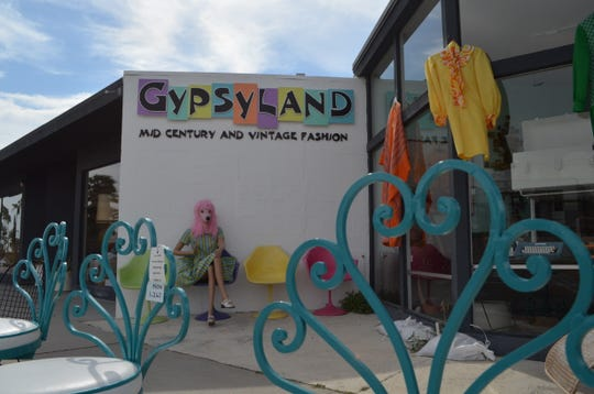 Gypsyland offers vintage shopping in Palm Springs.