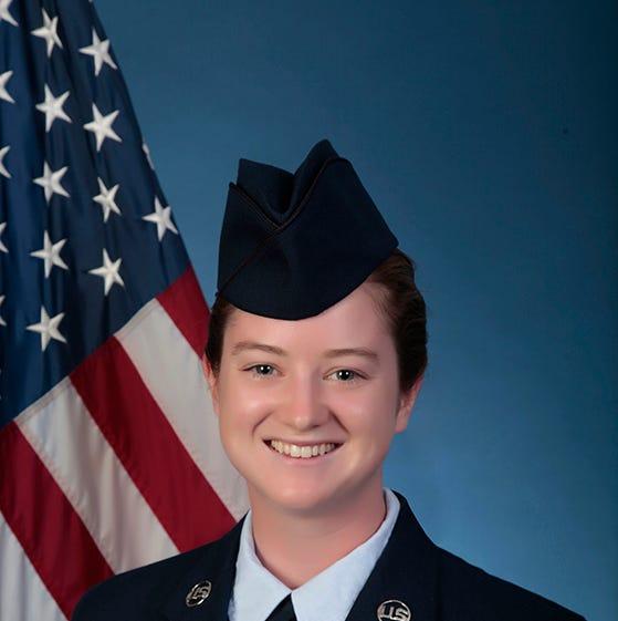 Abby Hoffman graduates from basic military training at Joint Base San Antonio-Lackland