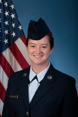 U.S. Air Force Airman 1st Class Abby Hoffman