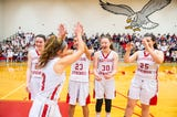 The Eagles are set to make their first PIAA girls basketball tournament appearance since 1997 when they take on the Bonner Prendie Pandas Saturday.