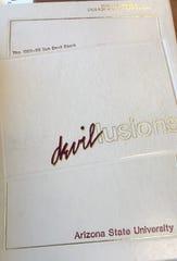 The 1989 Arizona State University yearbook.